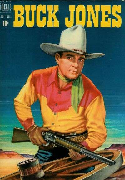 Buck Jones #4 comic books - cover scans photos Buck Jones #4 comic books - covers, picture gallery
