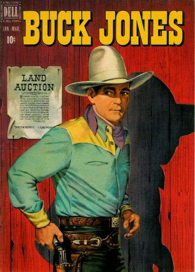 Buck Jones #5 Comic Books - Covers, Scans, Photos  in Buck Jones Comic Books - Covers, Scans, Gallery