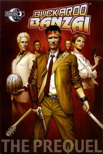 Buckaroo Banzai: The Prequel comic books
