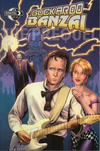 Buckaroo Banzai: The Prequel #2 comic books - cover scans photos Buckaroo Banzai: The Prequel #2 comic books - covers, picture gallery