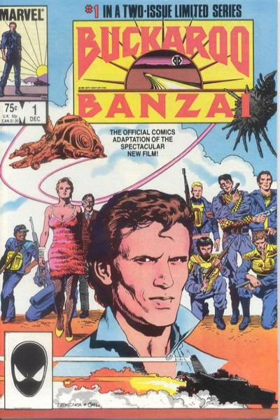 Buckaroo Banzai #1 comic books for sale