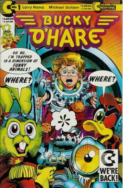 Bucky O'Hare #1 Comic Books - Covers, Scans, Photos  in Bucky O'Hare Comic Books - Covers, Scans, Gallery