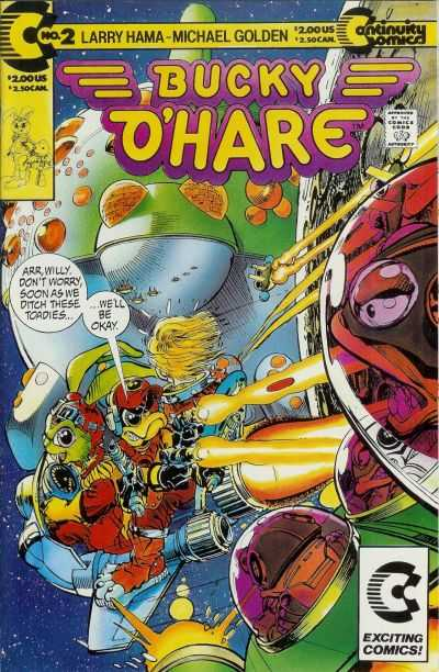 Bucky O'Hare #2 Comic Books - Covers, Scans, Photos  in Bucky O'Hare Comic Books - Covers, Scans, Gallery