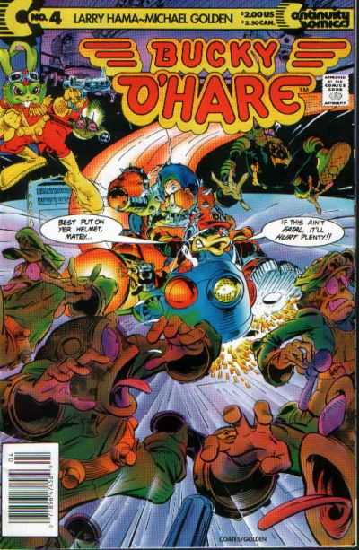 Bucky O'Hare #4 Comic Books - Covers, Scans, Photos  in Bucky O'Hare Comic Books - Covers, Scans, Gallery