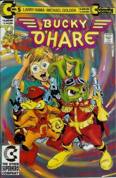 Bucky O'Hare #5 Comic Books - Covers, Scans, Photos  in Bucky O'Hare Comic Books - Covers, Scans, Gallery