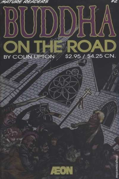 Buddha on the Road #2 comic books - cover scans photos Buddha on the Road #2 comic books - covers, picture gallery