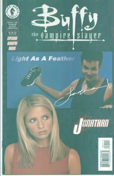 Buffy the Vampire Slayer: Jonathan #1 comic books for sale