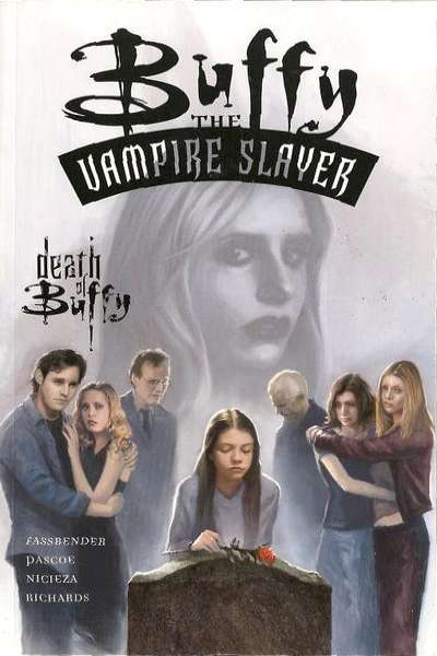 Buffy the Vampire Slayer: The Death of Buffy - Hardcover #1 comic books - cover scans photos Buffy the Vampire Slayer: The Death of Buffy - Hardcover #1 comic books - covers, picture gallery