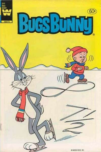 Bugs Bunny #244 comic books for sale