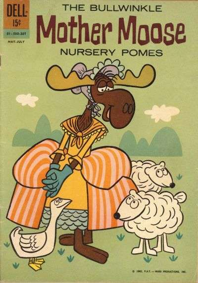 Bullwinkle Mother Moose Nursery Pomes comic books