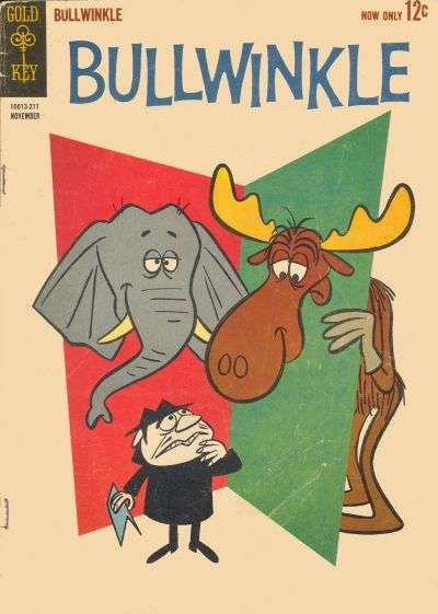 Bullwinkle comic books