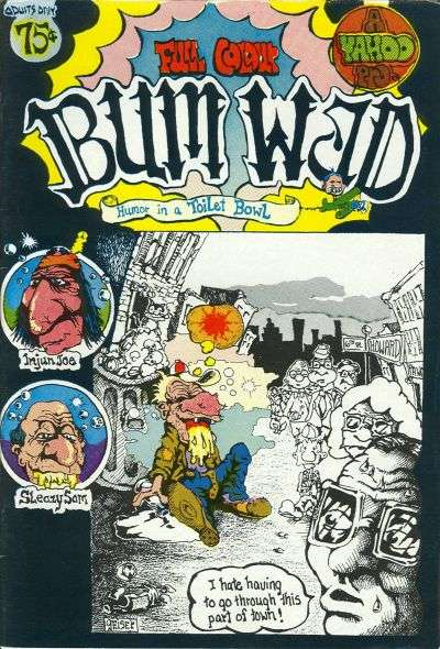 Bum Wad #1 comic books - cover scans photos Bum Wad #1 comic books - covers, picture gallery