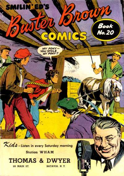 Buster Brown Comics #20 comic books for sale