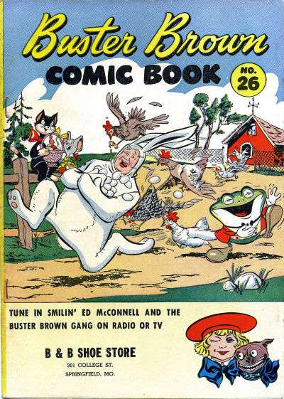 Buster Brown Comics #26 comic books for sale