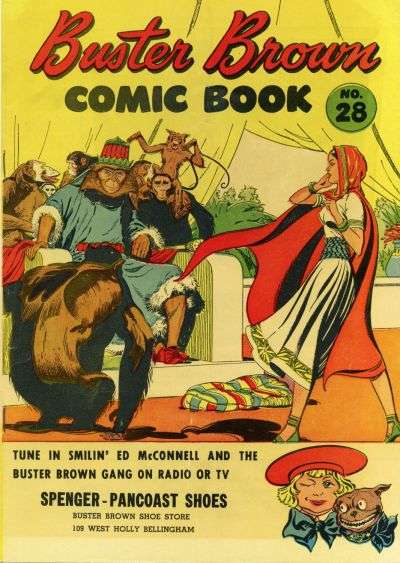 Buster Brown Comics #28 Comic Books - Covers, Scans, Photos  in Buster Brown Comics Comic Books - Covers, Scans, Gallery