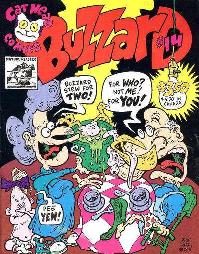 Buzzard #14 comic books for sale