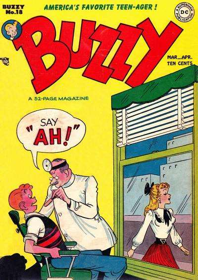 Buzzy #18 comic books for sale
