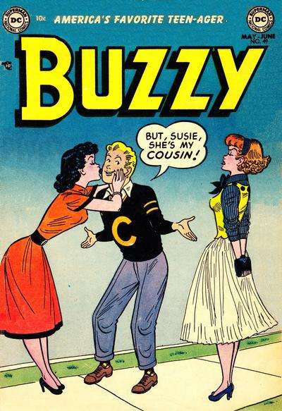 Buzzy #49 comic books for sale