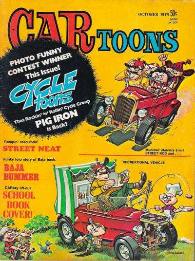 CARtoons #79 Comic Books - Covers, Scans, Photos  in CARtoons Comic Books - Covers, Scans, Gallery