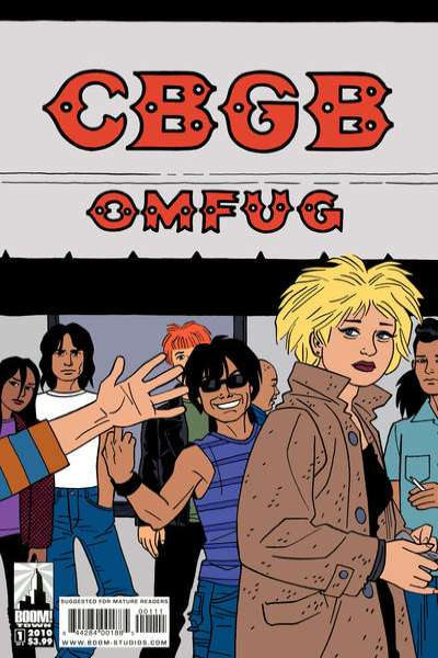 CBGB comic books