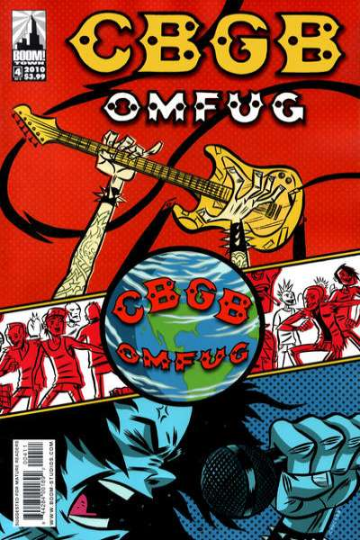 CBGB #4 comic books - cover scans photos CBGB #4 comic books - covers, picture gallery