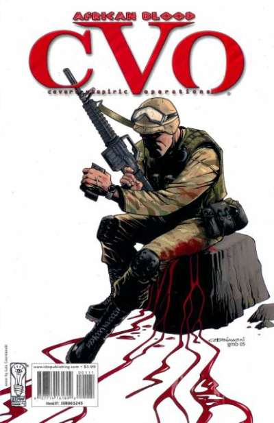 CVO: Covert Vampiric Operations - African Blood Comic Books. CVO: Covert Vampiric Operations - African Blood Comics.