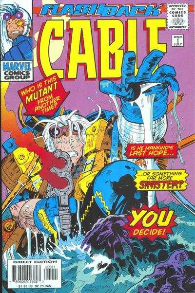 Cable #-1 comic books - cover scans photos Cable #-1 comic books - covers, picture gallery
