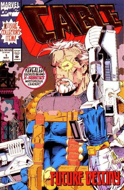 Cable #1 comic books - cover scans photos Cable #1 comic books - covers, picture gallery