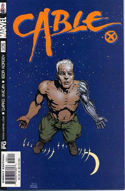Cable #105 comic books - cover scans photos Cable #105 comic books - covers, picture gallery