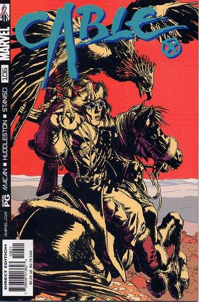 Cable #106 comic books - cover scans photos Cable #106 comic books - covers, picture gallery
