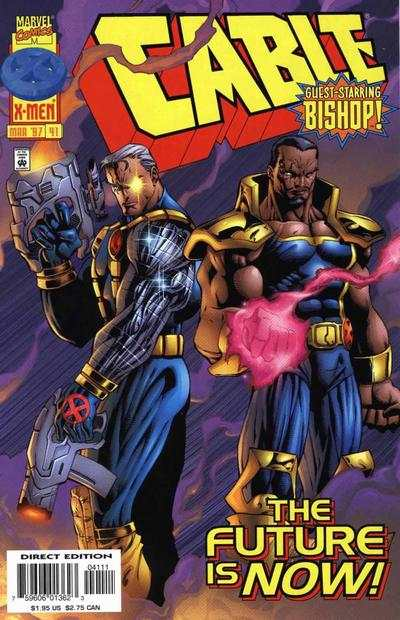 Cable #41 comic books - cover scans photos Cable #41 comic books - covers, picture gallery