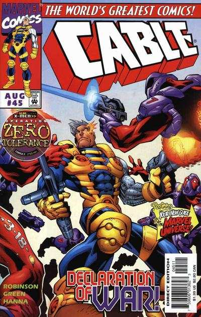 Cable #45 Comic Books - Covers, Scans, Photos  in Cable Comic Books - Covers, Scans, Gallery