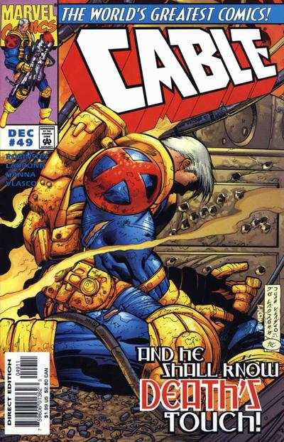 Cable #49 comic books - cover scans photos Cable #49 comic books - covers, picture gallery