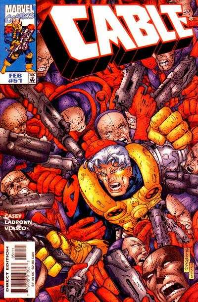 Cable #51 comic books - cover scans photos Cable #51 comic books - covers, picture gallery