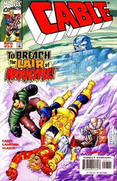 Cable #53 Comic Books - Covers, Scans, Photos  in Cable Comic Books - Covers, Scans, Gallery