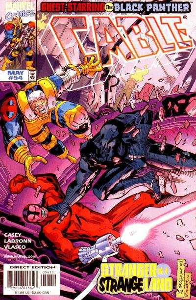 Cable #54 Comic Books - Covers, Scans, Photos  in Cable Comic Books - Covers, Scans, Gallery