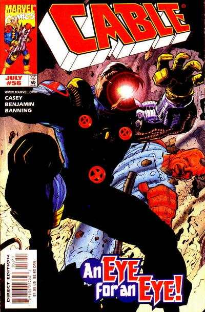 Cable #56 Comic Books - Covers, Scans, Photos  in Cable Comic Books - Covers, Scans, Gallery