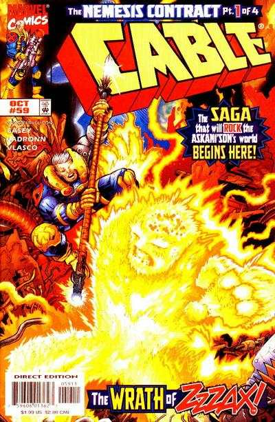 Cable #59 Comic Books - Covers, Scans, Photos  in Cable Comic Books - Covers, Scans, Gallery