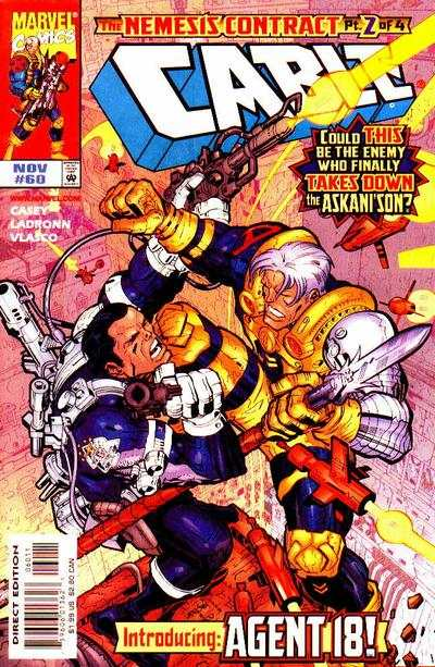 Cable #60 Comic Books - Covers, Scans, Photos  in Cable Comic Books - Covers, Scans, Gallery