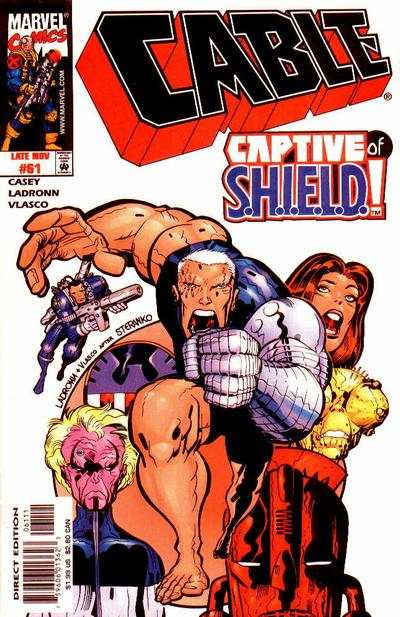 Cable #61 comic books - cover scans photos Cable #61 comic books - covers, picture gallery