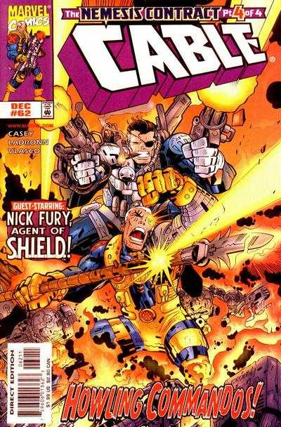 Cable #62 comic books - cover scans photos Cable #62 comic books - covers, picture gallery