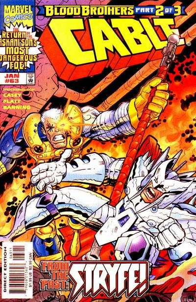 Cable #63 comic books - cover scans photos Cable #63 comic books - covers, picture gallery