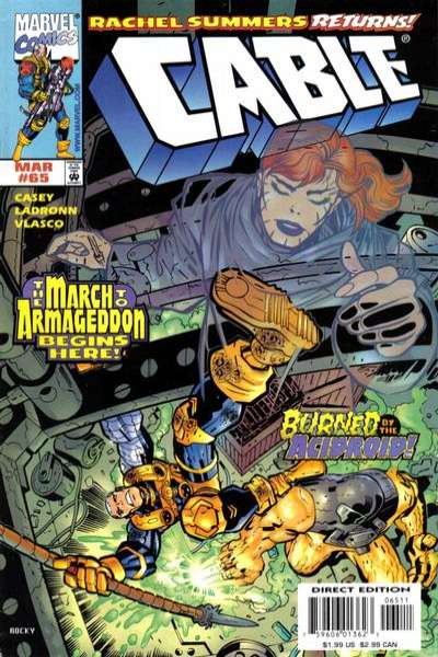 Cable #65 comic books for sale