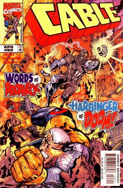 Cable #66 comic books - cover scans photos Cable #66 comic books - covers, picture gallery