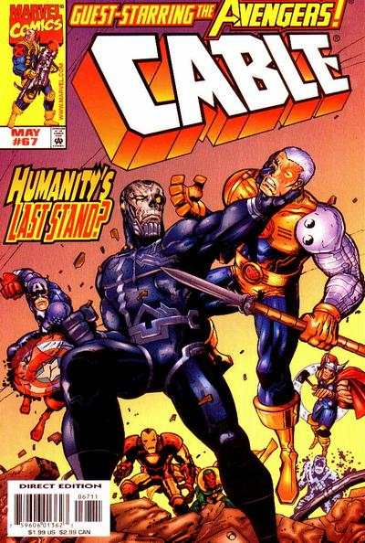 Cable #67 comic books - cover scans photos Cable #67 comic books - covers, picture gallery