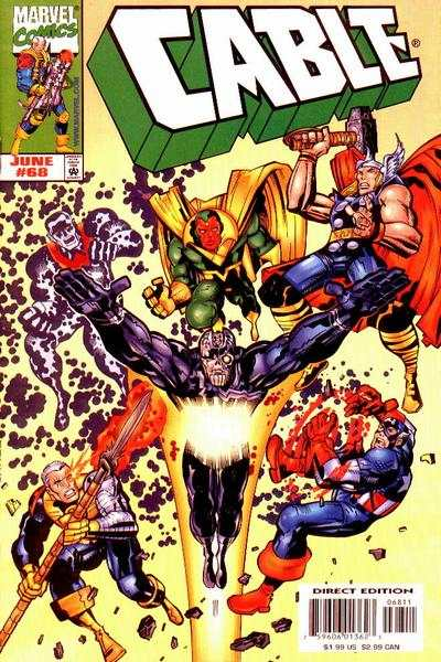 Cable #68 Comic Books - Covers, Scans, Photos  in Cable Comic Books - Covers, Scans, Gallery