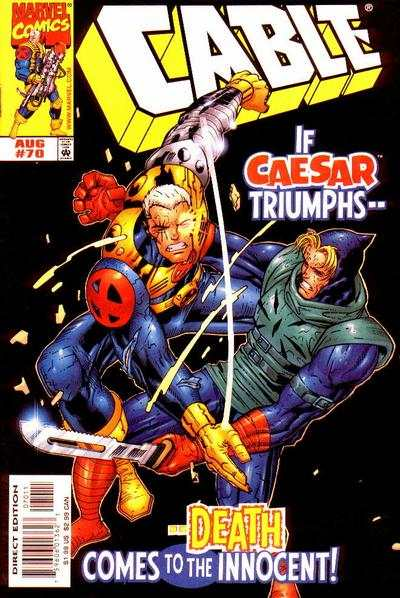 Cable #70 comic books - cover scans photos Cable #70 comic books - covers, picture gallery