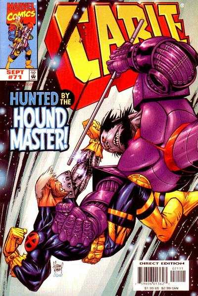 Cable #71 Comic Books - Covers, Scans, Photos  in Cable Comic Books - Covers, Scans, Gallery