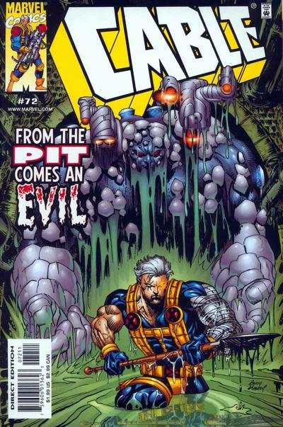 Cable #72 comic books - cover scans photos Cable #72 comic books - covers, picture gallery
