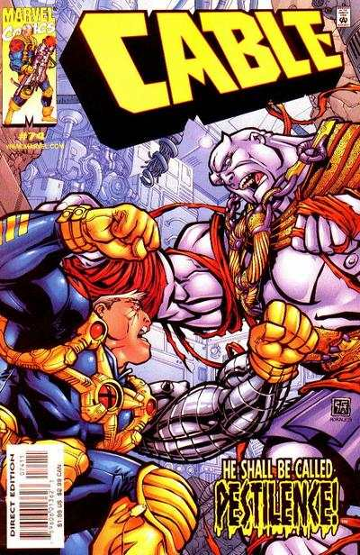 Cable #74 comic books - cover scans photos Cable #74 comic books - covers, picture gallery